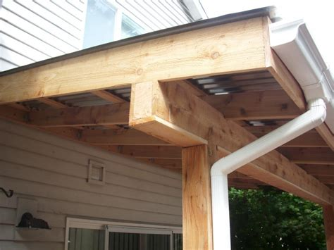 patio post covers corrugated patio cover deck masters llc portland or