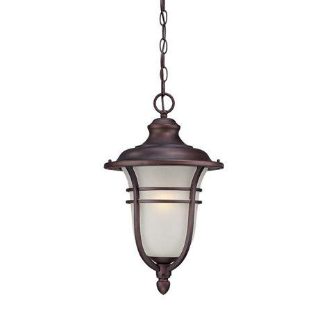 home depot hanging light fixtures acclaim lighting montclair 1 light architectural bronze