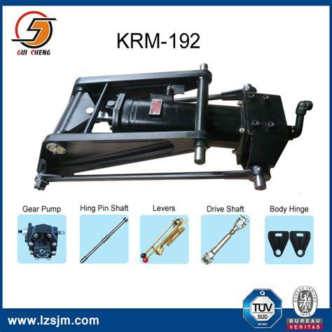 Car Dumper Trunnion by Small Dump Truck Hydraulic Hoist Cylinder Krm92