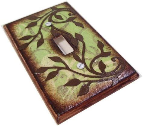 decoupage switch plates pin by elaine m on craft ideas