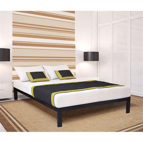 king size metal platform bed frame king size metal platform bed frame with wood slats home