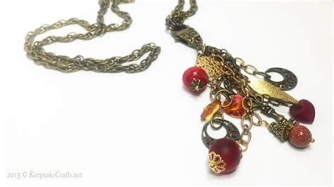 focal for jewelry clasp focal dangles necklace tutorial