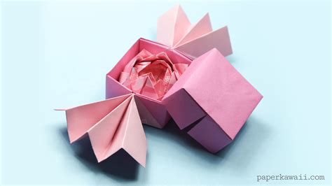 how to make a small origami flower traditional origami lotus paper kawaii