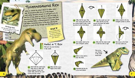 origami dinosaur book origami adventures dinosaurs the dinosaur farm
