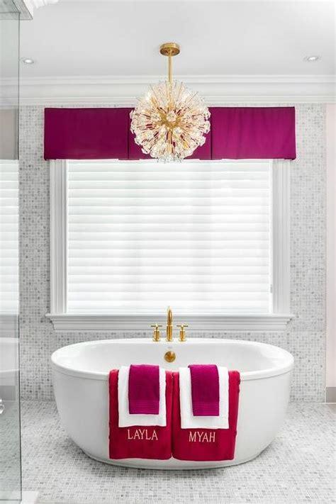 fuschia pink bathroom accessories fuschia bathroom accents contemporary bathroom