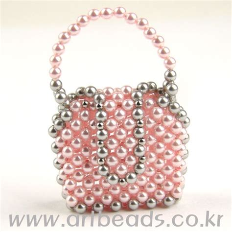 beaded purse tutorial beaded mini purse pattern artbeads miniaturas con