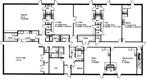 preschool floor plan template floor plan of world day care in sac city ia
