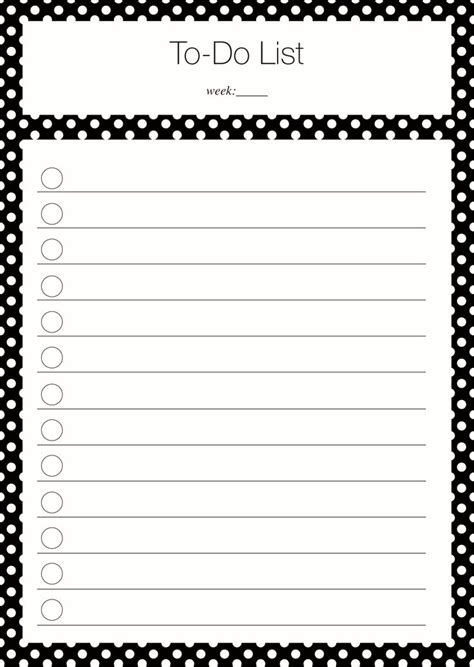 for to do 40 printable to do list templates baby