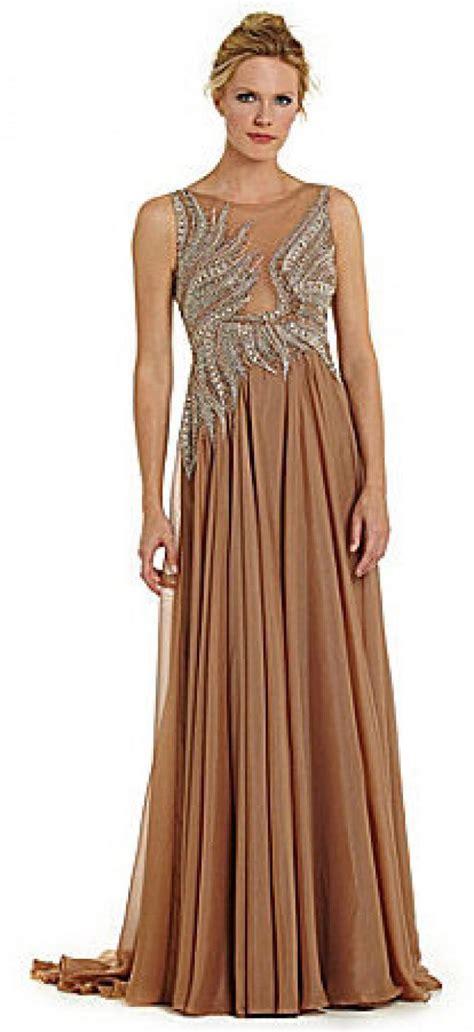 beaded bodice terani couture beaded bodice chiffon gown 2250336 weddbook