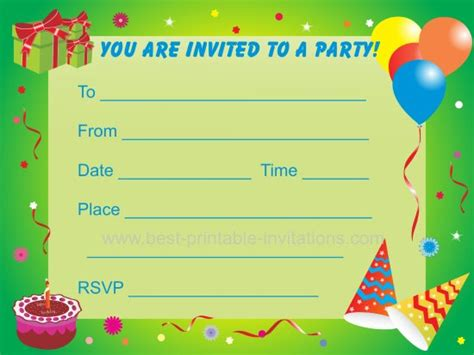 make birthday invitation cards for free printable birthday invitations for for free printable