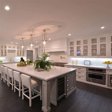 big kitchen islands best 25 large kitchen design ideas on