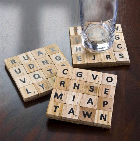 make scrabble how to make coasters from scrabble tiles mod podge rocks
