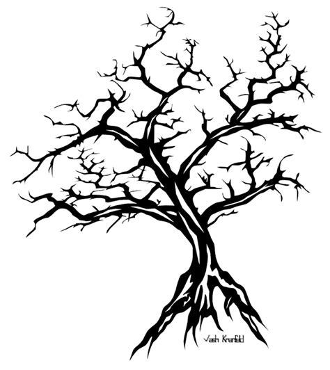 tribal tree tattoo by vashkranfeld on deviantart