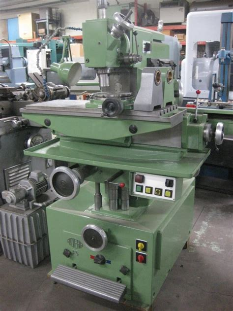 Aciera F5 Universal Milling Machine For Sale One Owner