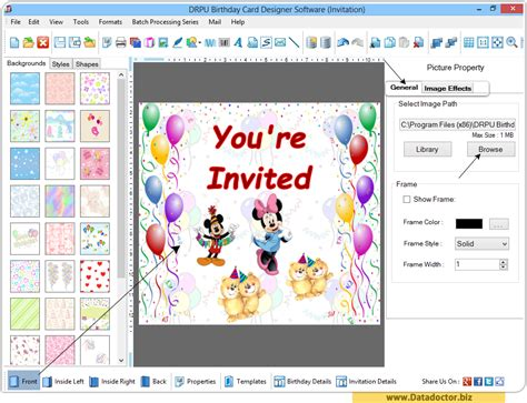 software for cards and invitations birthday card maker software design greeting happy