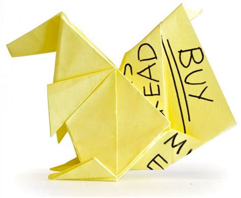 origami post it you won t believe the origami creations these artists