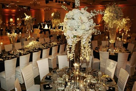 sophisticated decorations sophisticated black and white wedding reception