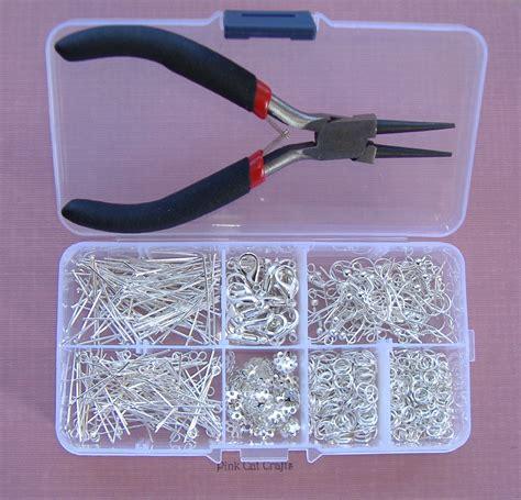 photo jewelry kits jewellery starter kit with pliers storage box