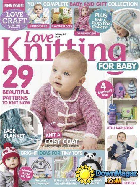 baby knitting magazine knitting for baby 02 2017 187 pdf magazines