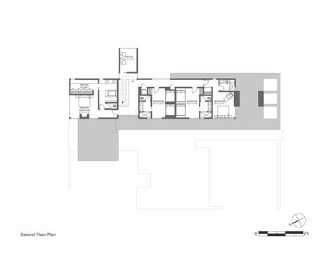 sloping block house plans modern sloping block house design with three storey floor