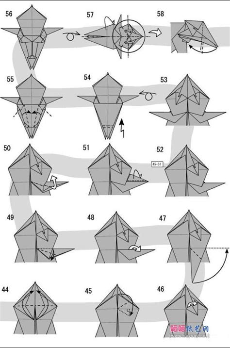 how to make a origami wolf step by step the 25 best origami ideas on origami