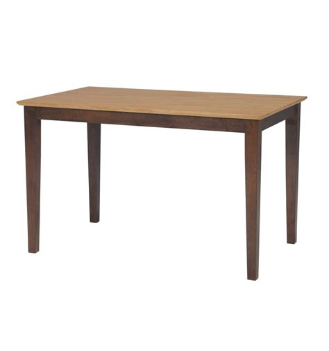 48 inch modern farm dining table unlimited furniture