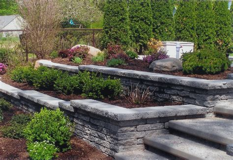 retaining garden wall ideas what s new at blue tree