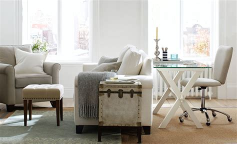 pottery barn small spaces how to choose furniture small space pottery barn