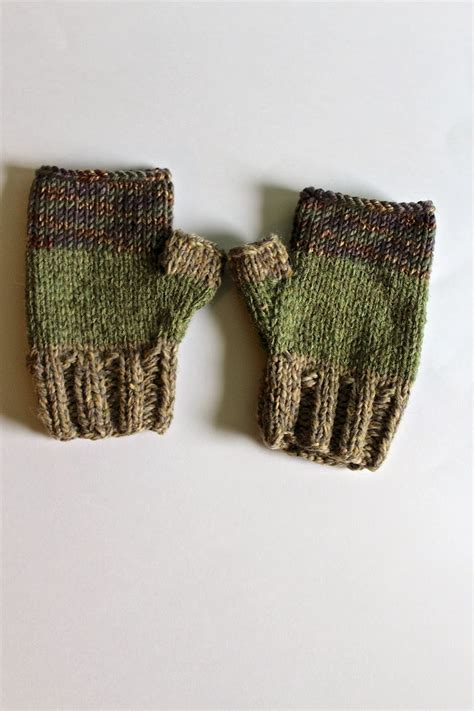 knit gloves lexalex knit fingerless gloves