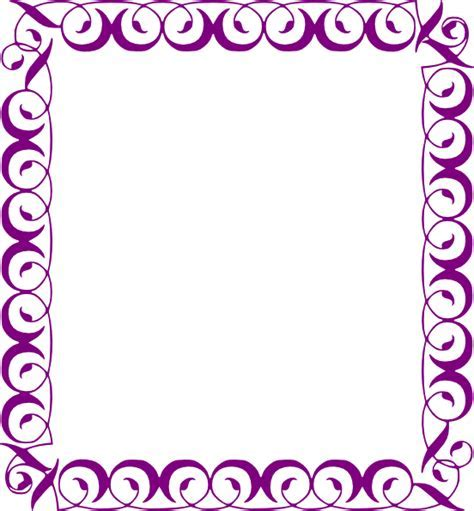 Fancy Border Clip Art at Clker.com   vector clip art online, royalty free & public domain