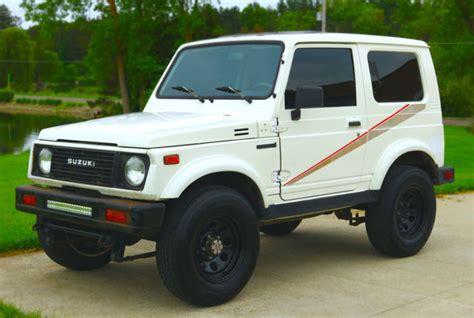 Suzuki Samurai Engine For Sale by Suzuki Samurai Road Vehicle 1987 Suzuki Samurai