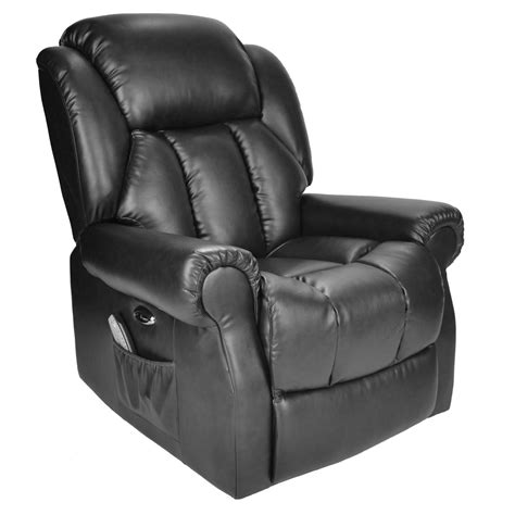 Heat Chair by Hainworth Leather Reclining Powered Electric Recliner