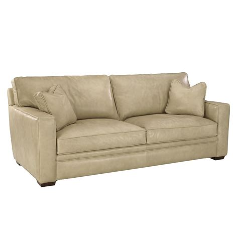 klaussner leather sofas klaussner homestead leather sofa olinde s furniture sofas