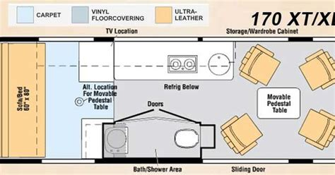 Home Floor Plans With Photos winnebago era class b motorhome review roaming times