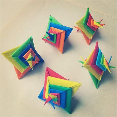 modular origami modular origami spiral 4 by madsoulchild on deviantart