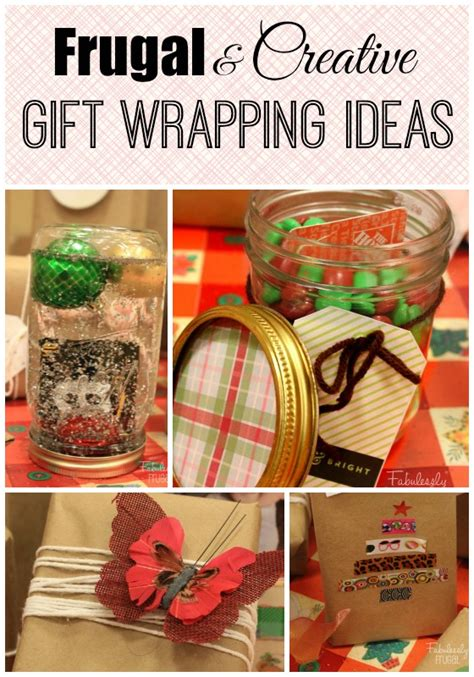 frugal and creative gift wrapping ideas fabulessly frugal