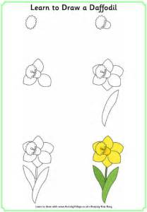 learning to draw learn to draw a daffodil
