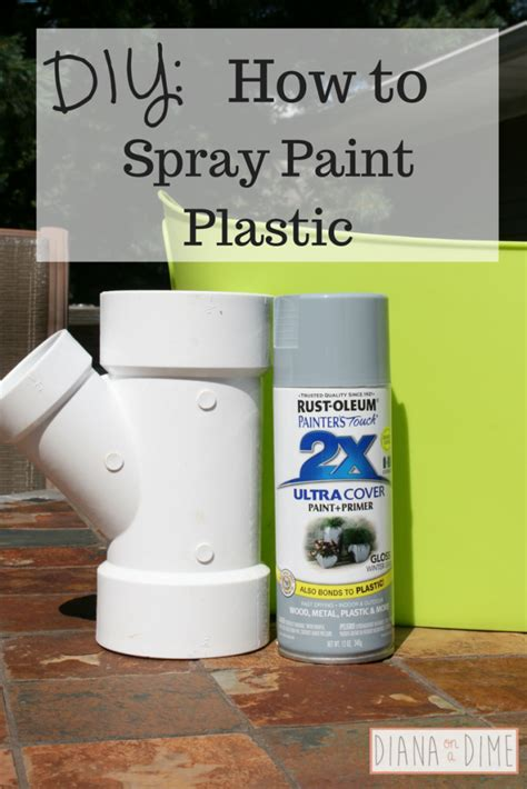 spray painting plastic storage archives diana on a dime
