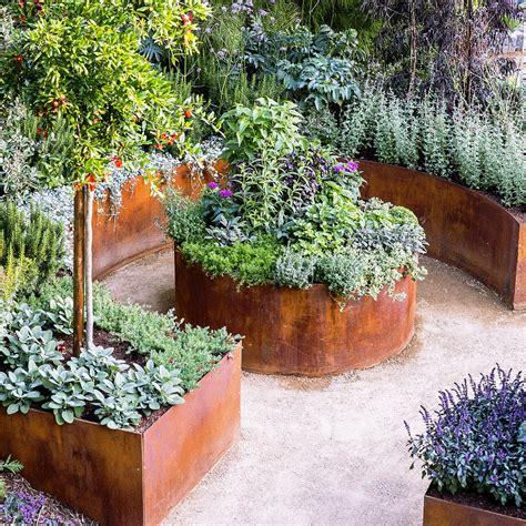 raised bed designs vegetable gardens raised garden bed designs sunset