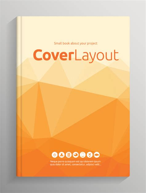 free pictures for book covers brochure and book cover creative vector 02 vector cover