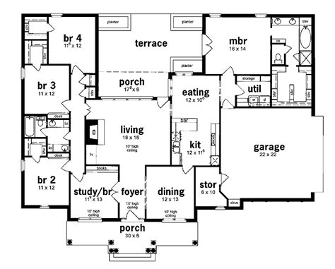 5 bedroom house plans 1 story 301 moved permanently