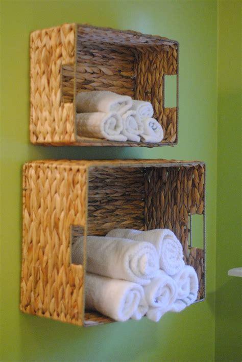 bathroom towel storage ideas diy bathroom towel storage in 5 minutes