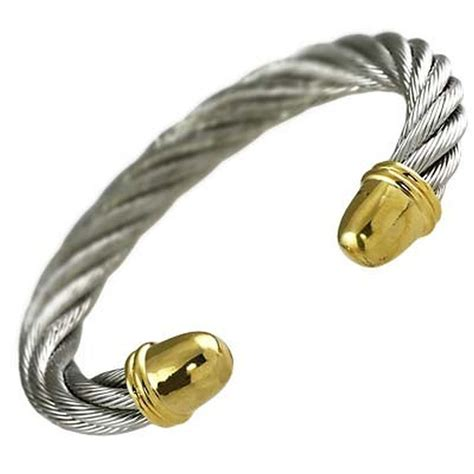 metal cuffs for jewelry designer s touch twisted rope cable cuff bangle
