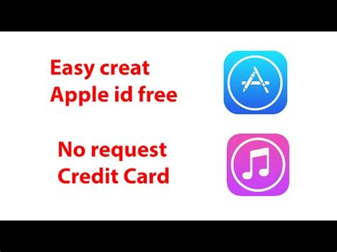 make apple id no credit card easy create apple id free 2015 no request