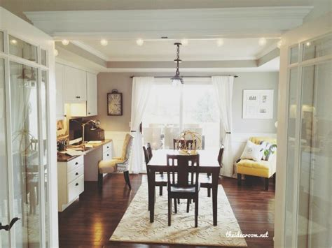 office dining room office craft room tour doors offices and craft rooms