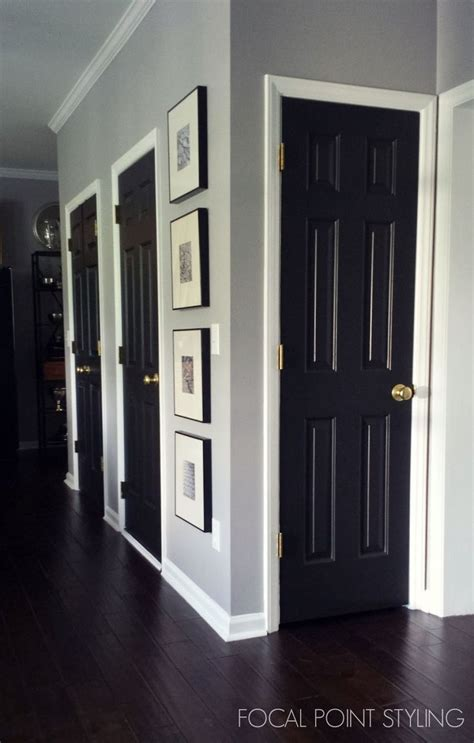 painting front door black 25 best ideas about painting interior doors on