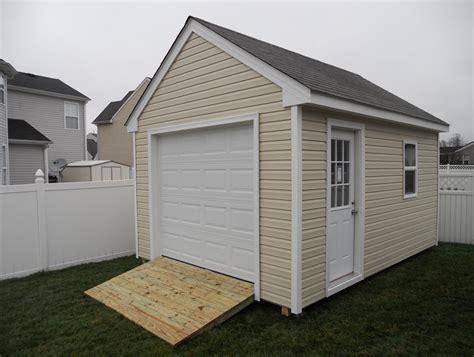 8x10 garage door price sheds