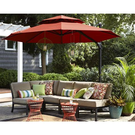 best offset patio umbrella best large umbrella patio furniture 25 best ideas about