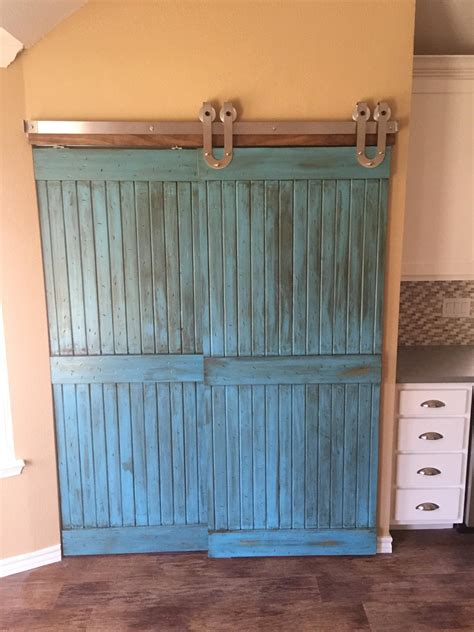 barn door for pantry sliding barn doors add personality to our client s new