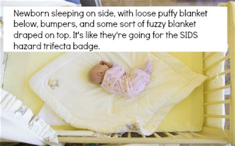 baby sleeps on side in crib is your crib as safe as you think precious sleep